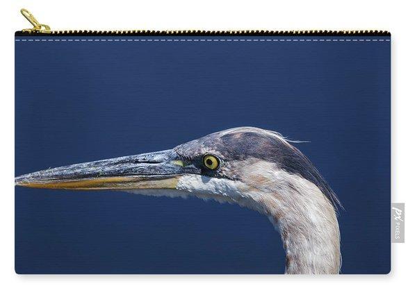 A Blue Portrait Carry-all Pouch