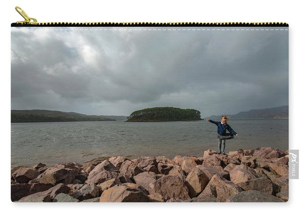 A Charming Little Girl In The Isle Of Skye 1 Carry-all Pouch