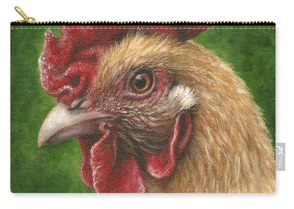 A Chicken For Terry Carry-all Pouch