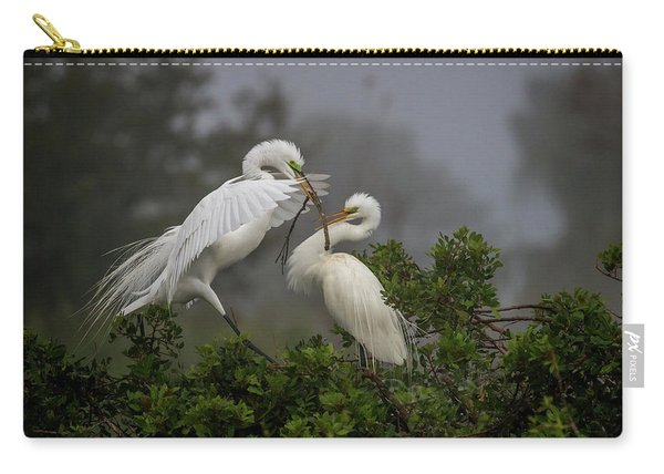 A Couple Of Birds Carry-all Pouch