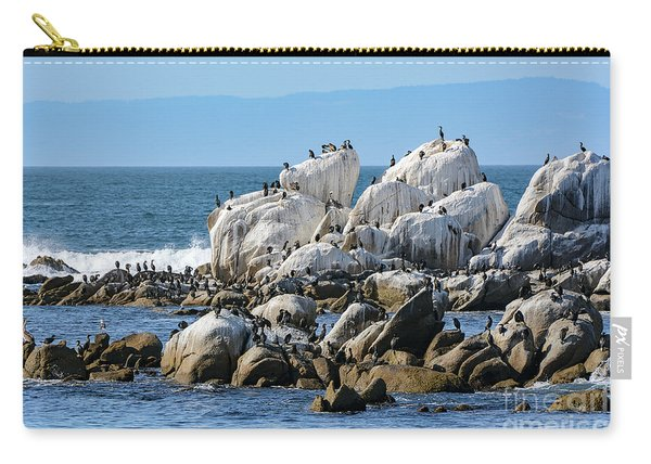 A Crowded Bird Rock Carry-all Pouch
