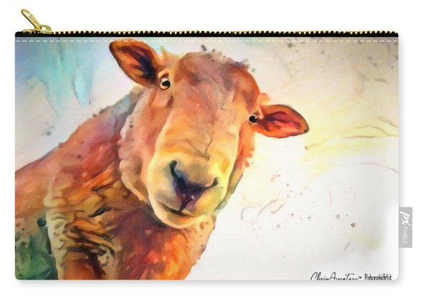 A Curious Sheep Called Shawn Carry-all Pouch