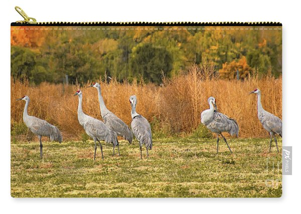 A Dance Of Cranes Carry-all Pouch