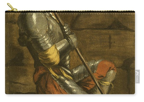 A Figure In Armour Carry-all Pouch