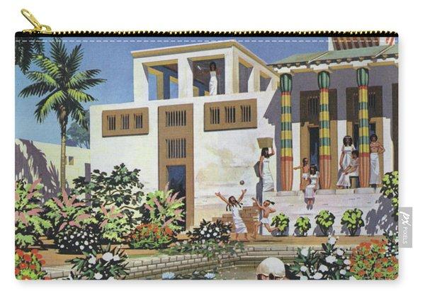 A Garden In Egypt, Circa 1500 Bc Carry-all Pouch