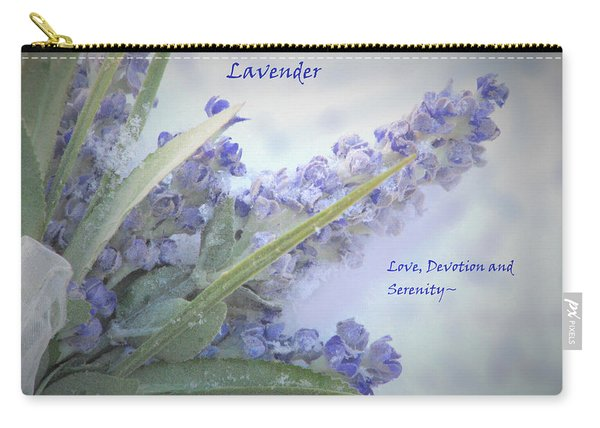 A Gift Of Lavender Carry-all Pouch