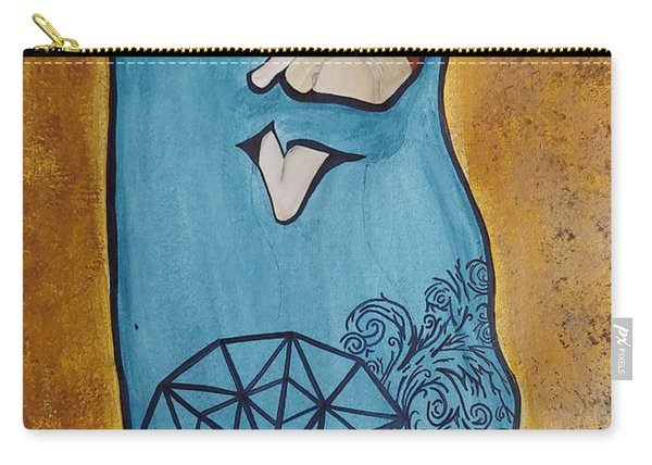 A Kiss From The Heart Carry-all Pouch