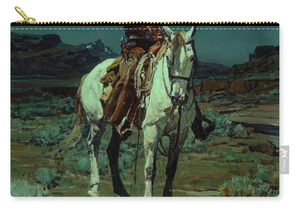 A Light In The Night, 1936 Carry-all Pouch