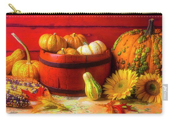 A Lovely Autumn Still Life Carry-all Pouch