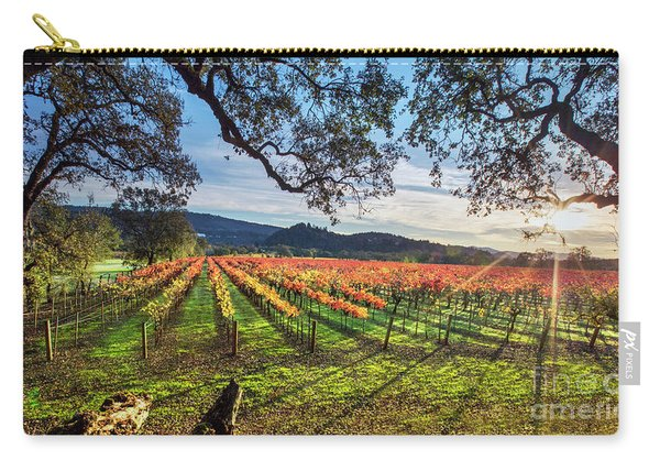 A New Day In Napa Carry-all Pouch