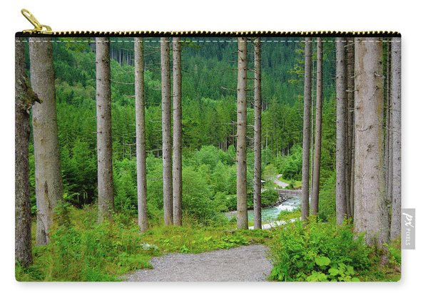 A Path To The River Carry-all Pouch
