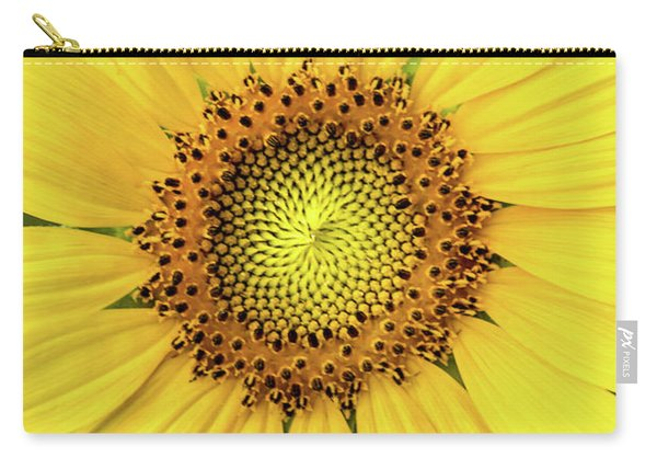 A Perfect Sunflower Carry-all Pouch