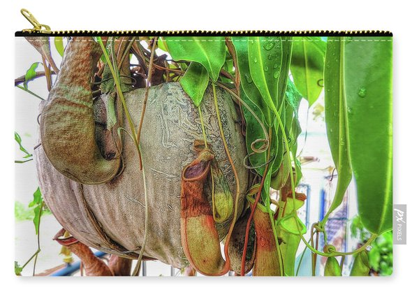 A Pitcher Plant On Our Terrace In Thailand Carry-all Pouch