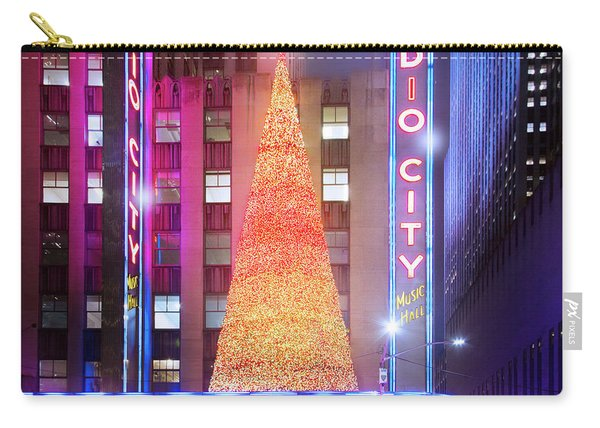 A Radio City Music Hall Holiday Carry-all Pouch