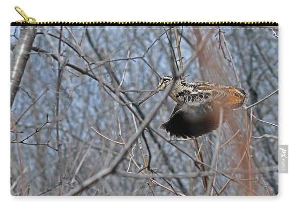 A Rocket In-flight Through The Woods Carry-all Pouch