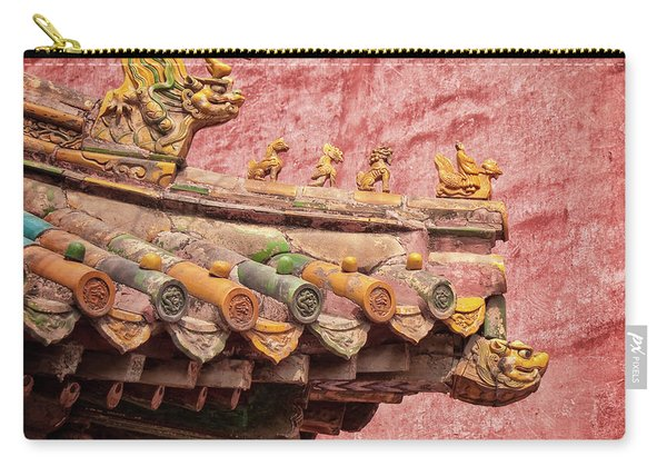 A Roof In The Forbidden City Carry-all Pouch