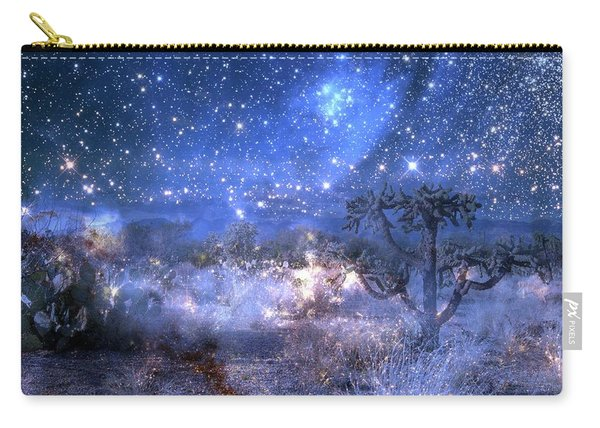A Starry Night In The Desert Carry-all Pouch