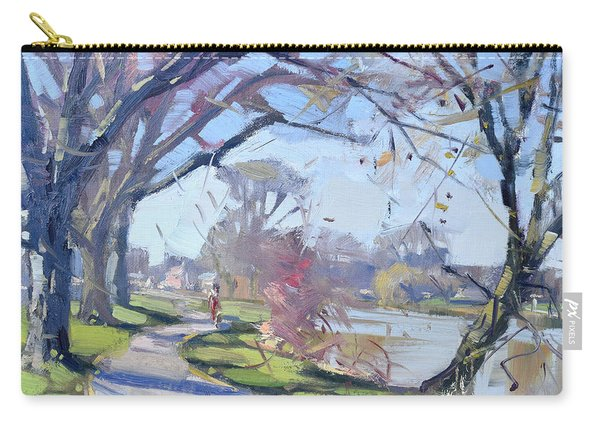 A Sunny Day In Tonawanda Carry-all Pouch