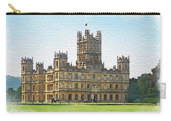 A View Of Highclere Castle 1 Carry-all Pouch