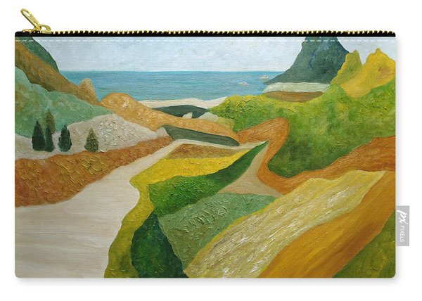 A Walk Down To The Sea Carry-all Pouch