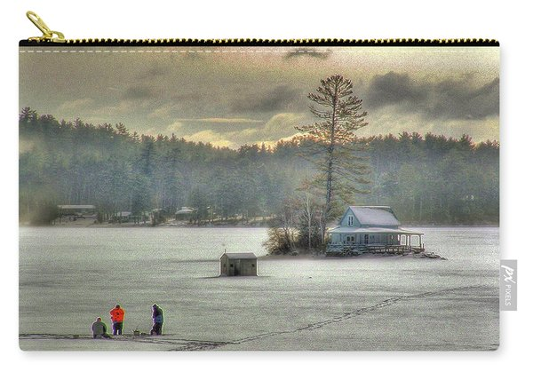 A Warm Glow On A Cool Scene Carry-all Pouch