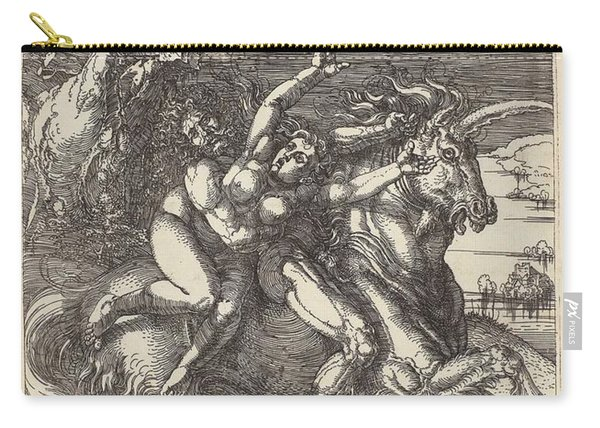 Abduction On A Unicorn, 1516 Albrecht Durer Carry-all Pouch