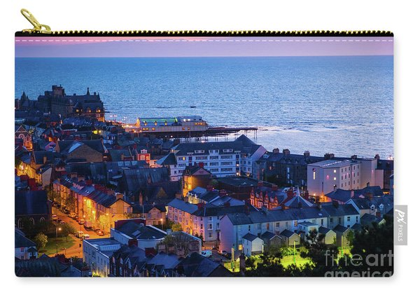 Aberystwyth At Night Carry-all Pouch