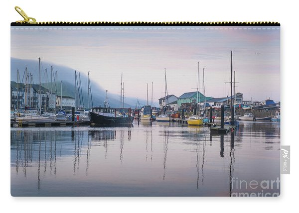 Aberystwyth Harbour In The Eatly Morning Carry-all Pouch