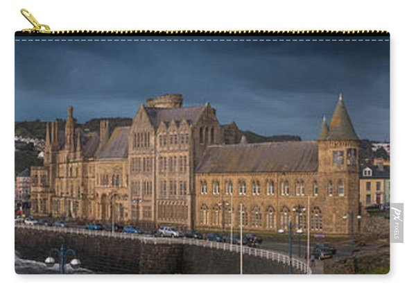 Aberystwyth Seafront Panorama Carry-all Pouch