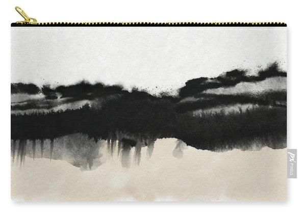 Abiding 2- Art By Linda Woods Carry-all Pouch