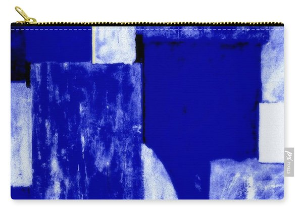 Abstract Cloudy Blue Sky Carry-all Pouch
