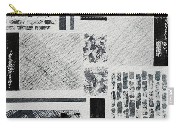 Abstract Collage Carry-all Pouch