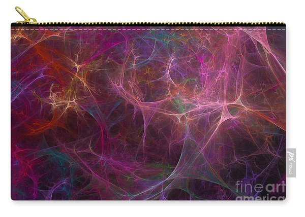 Abstract Colorful Fireworks Carry-all Pouch