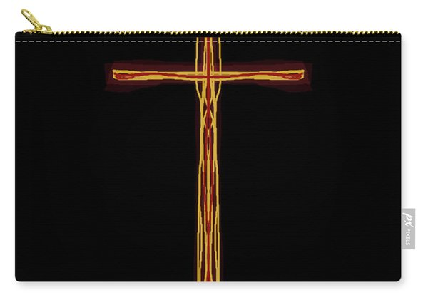 Abstract Cross With Halo Carry-all Pouch