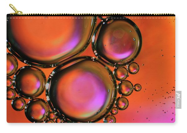 Abstract Droplets Carry-all Pouch
