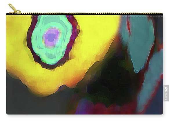 Abstract Floral Art 371 Carry-all Pouch