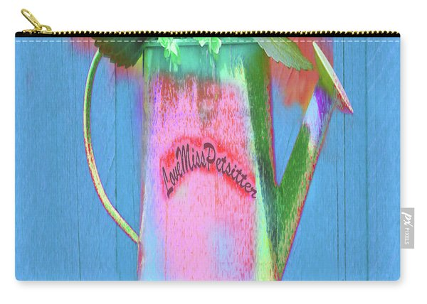Abstract Floral Art 377 Carry-all Pouch
