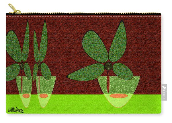 Abstract Floral Art 385 Carry-all Pouch