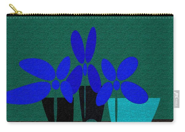 Abstract Floral Art 392 Carry-all Pouch