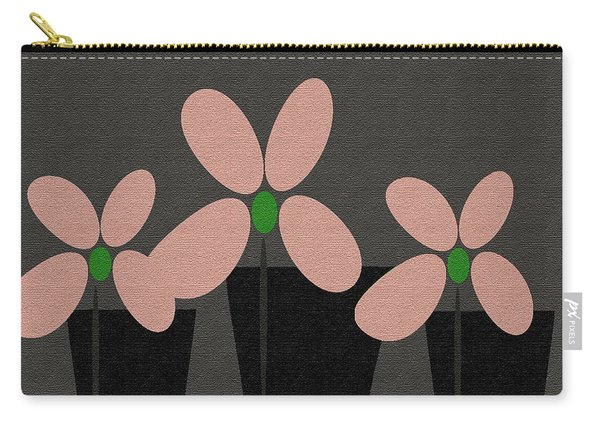 Abstract Floral Art 394 Carry-all Pouch