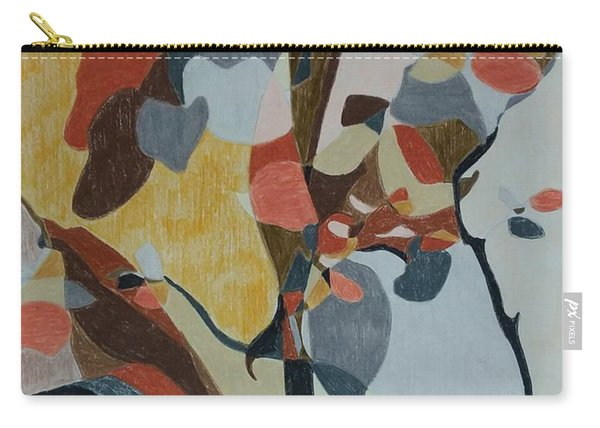 Abstract Foliage Trees Carry-all Pouch