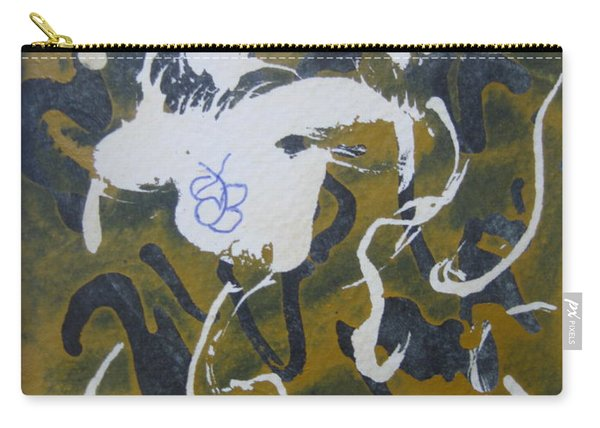 Abstract Human Figure Carry-all Pouch