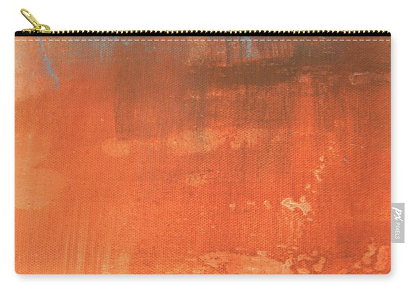 Abstract In Orange Carry-all Pouch
