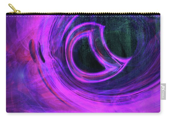 Abstract Rendered Artwork 4 Carry-all Pouch
