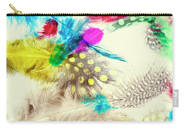 Abstract Softness Carry-all Pouch