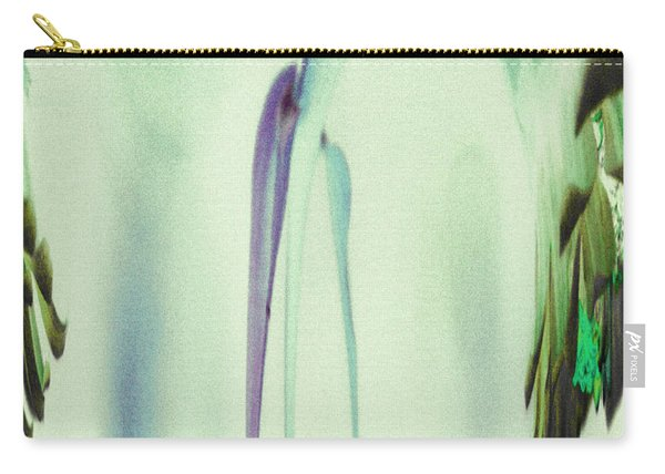 Abstract Soothing Green Carry-all Pouch