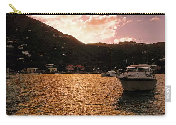 Abstractions Of Coral Bay Carry-all Pouch