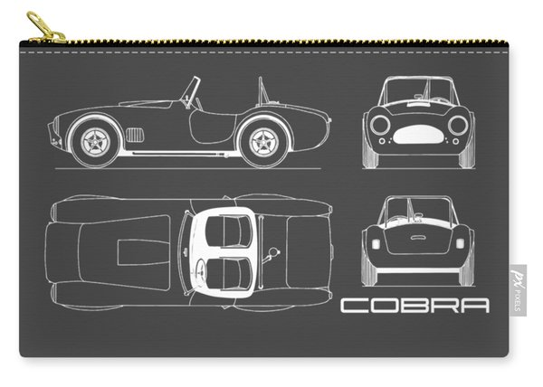 Ac Cobra Blueprint Carry-all Pouch