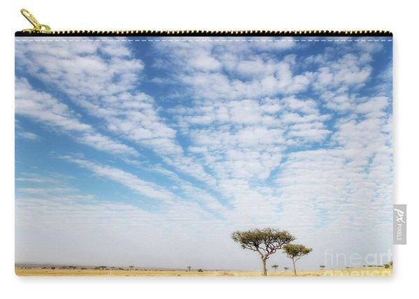 Acacia Trees In The Masai Mara Carry-all Pouch
