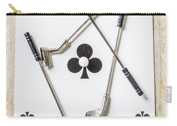 Ace Of Clubs Carry-all Pouch